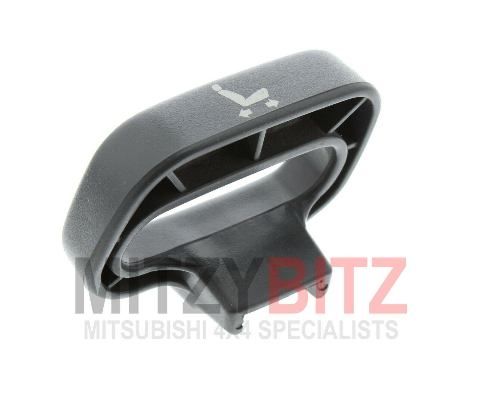Mitsubishi Shogun Mk2 Rear Interior Grey Leather Roof Grab Handle Non Sided