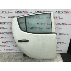 WHITE R/H BARE REAR DOOR ONLY - MITSUBISHI L200 2.5 DID KB4T B40 06-16