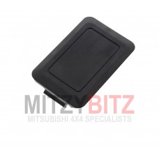 BLACK BLANKING SWITCH DASH PANEL HOLE COVER