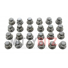 24 x GOOD USED WASHER TYPE WHEEL NUTS