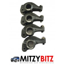 4 X USED 4D56 2.5 EXHAUST ROCKER ARMS
