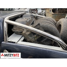 REAR STAINLESS STEEL SPORTS ROLL BAR - L200 DID DBL CAB 2006-2015