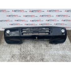 COMPLETE FRONT BUMPER WITH FOG LAMPS ( BLACK )
