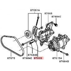 A/C AIR CON COMPRESSER TENSION PULLEY BRACKET ONLY