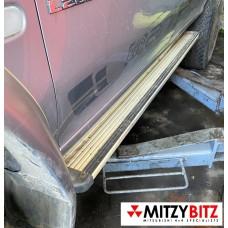 L/H SIDESTEP - L200 K74 DBL CAB MODELS
