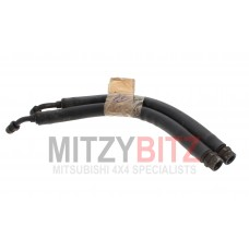 ENG OIL COOLER FEED & RETURN FLEXI HOSE PIPES