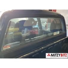 REAR CAB WINDOW GLASS & SEAL ( DBL CAB MODELS )
