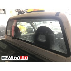 REAR CAB WINDOW GLASS ONLY