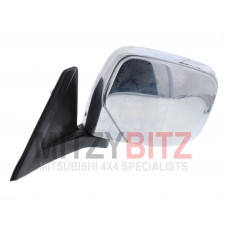 L/H ELECTRIC ADJUST & HEATED CHROME WING MIRROR