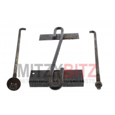 BATTERY HOLDING BRACKET WITH BOLTS