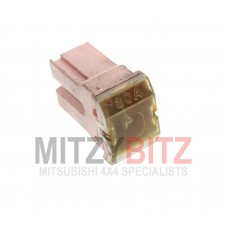 30 AMP PINK PUSH IN FUSE (DOME STYLE)