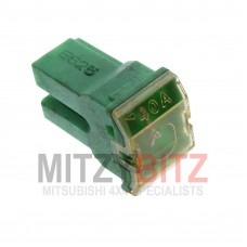 40 AMP GREEN PUSH IN FUSE (DOME STYLE)