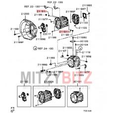 M/T MANUAL GEARBOX CASE GASKET