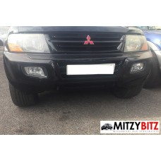 FRONT COMPLETE BUMPER WITH GOG LAMPS ( 2000-2002 MODELS ONLY )