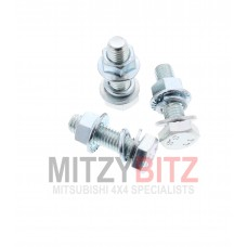 3 X EXHAUST FITTING BOLTS