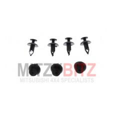 7 X FUEL FILLER PIPE COVER HOLDING CLIPS