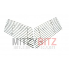 FRONT GRILLE CHROME BILLET COVERS