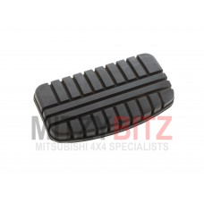 BRAKE PEDAL RUBBER 112MM X 61MM ( AUTOMATIC MODELS ONLY )