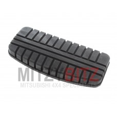 BRAKE PEDAL RUBBER 132MM X 61MM ( AUTOMATIC MODELS ONLY )