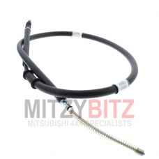 REAR HANDBRAKE PARKING BRAKE CABLE L/H ( SWB MODELS ONLY )