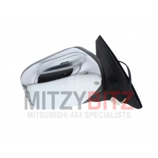 CHROME ELECTRIC WING MIRROR R/H