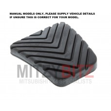 CLUTCH / BRAKE PEDAL COVER RUBBER PAD