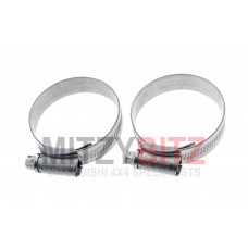 RADIATOR HOSE PIPING CLAMP JUBILEE CLIPS X2