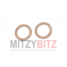 10MM DIAMETER ENGINE OIL LINE COPPER WASHER GASKET (2)