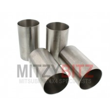 4 X ENGINE CYLINDER PISTON LINER