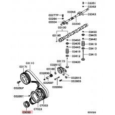 Engine Crankshaft Timing Gear