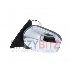 CHROME ELECTRIC WING MIRROR L/H ( RIGHT HAND DRIVE ONLY )