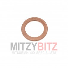 1 x FUEL INJECTOR NOZZLE SEAL WASHER ( COPPER )