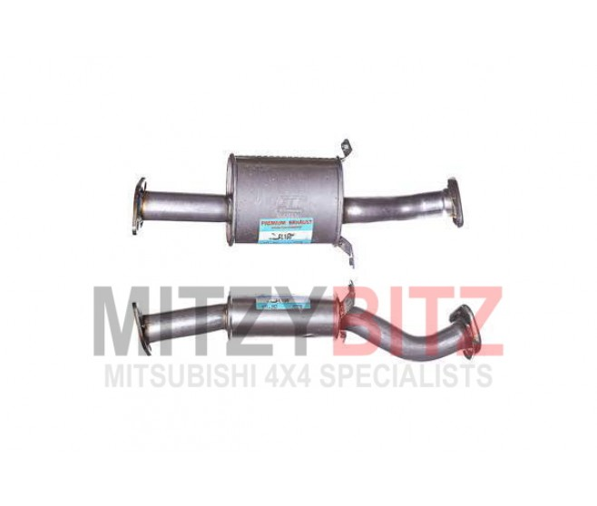 EXHAUST MIDDLE CENTRE PIPE BOX