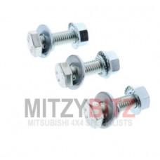 3 X EXHAUST PIPE FIXING BOLTS