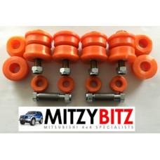 Complete Rear Axle Polyurethane Bush Kit