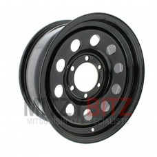 16 X 7 STEEL WHEEL BLACK MODULAR
