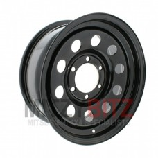 Steel Modular Wheel 7 X 17 (Black) ET8
