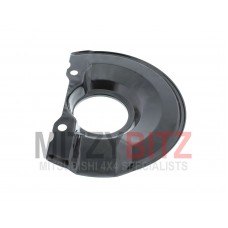 FRONT BRAKE DISC METAL COVER  R/H