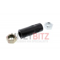 TRACK ROD END ADJUSTER TUBE & L/H R/H THREADED NUTS