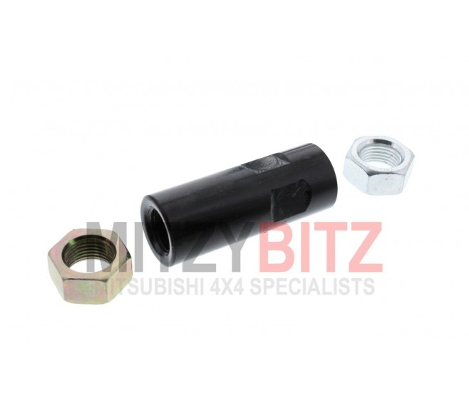 TRACK ROD END ADJUSTER TUBE & THREADED NUTS FOR A MITSUBISHI PAJERO/MONTERO - V46W