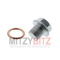 14MM ENGINE OIL PAN SUMP PLUG & WASHER