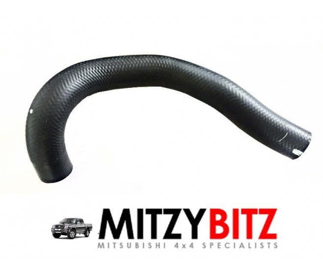 LOWER BOTTOM RADIATOR HOSE ( 2001 ONWARDS TURBO MODELS ONLY ) FOR A MITSUBISHI L200 - K74T