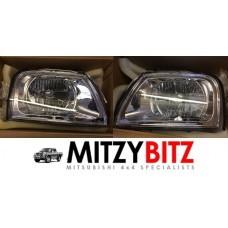 HEAD LAMPS LIGHTS ( LEFT HAND DRIVE MODELS ONLY )