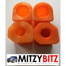 FRONT POLY ANTI ROLL BAR BUSH KIT ( DOUBLE CAB MODELS ONLY )