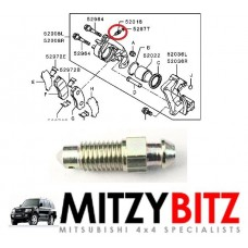 BRAKE CALIPER BLEEDER BLEED SCREW (M7)
