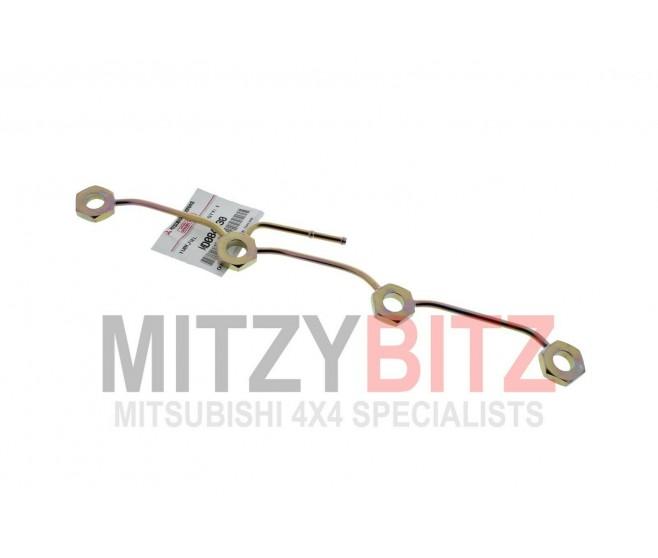 GENUINE MITSUBISHI 2.5 4D56 SPILL LEAK OFF FUEL RETURN INJECTOR RAIL PIPE