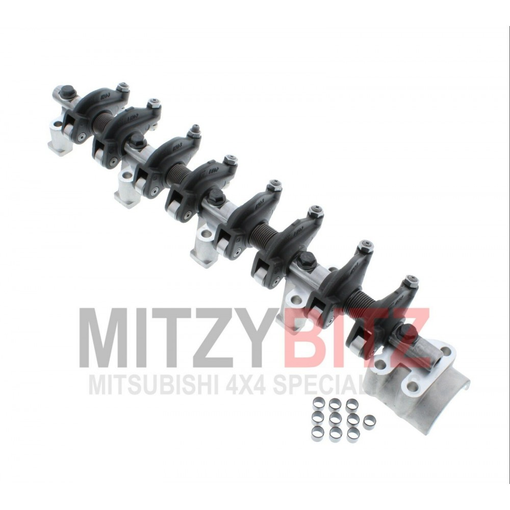 COMPLETE ROCKER SHAFT WITH ARMS & CAPS FOR A MITSUBISHI DELICA STAR  WAGON/VAN - P25V