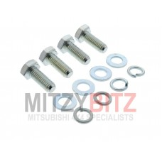 MIDDLE SKID PLATE SUMP BASH GUARD BOLTS ONLY