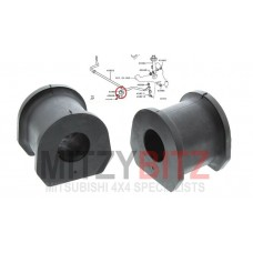FRONT ANTI ROLL STABILISER BAR BUSHES ( RUBBER )