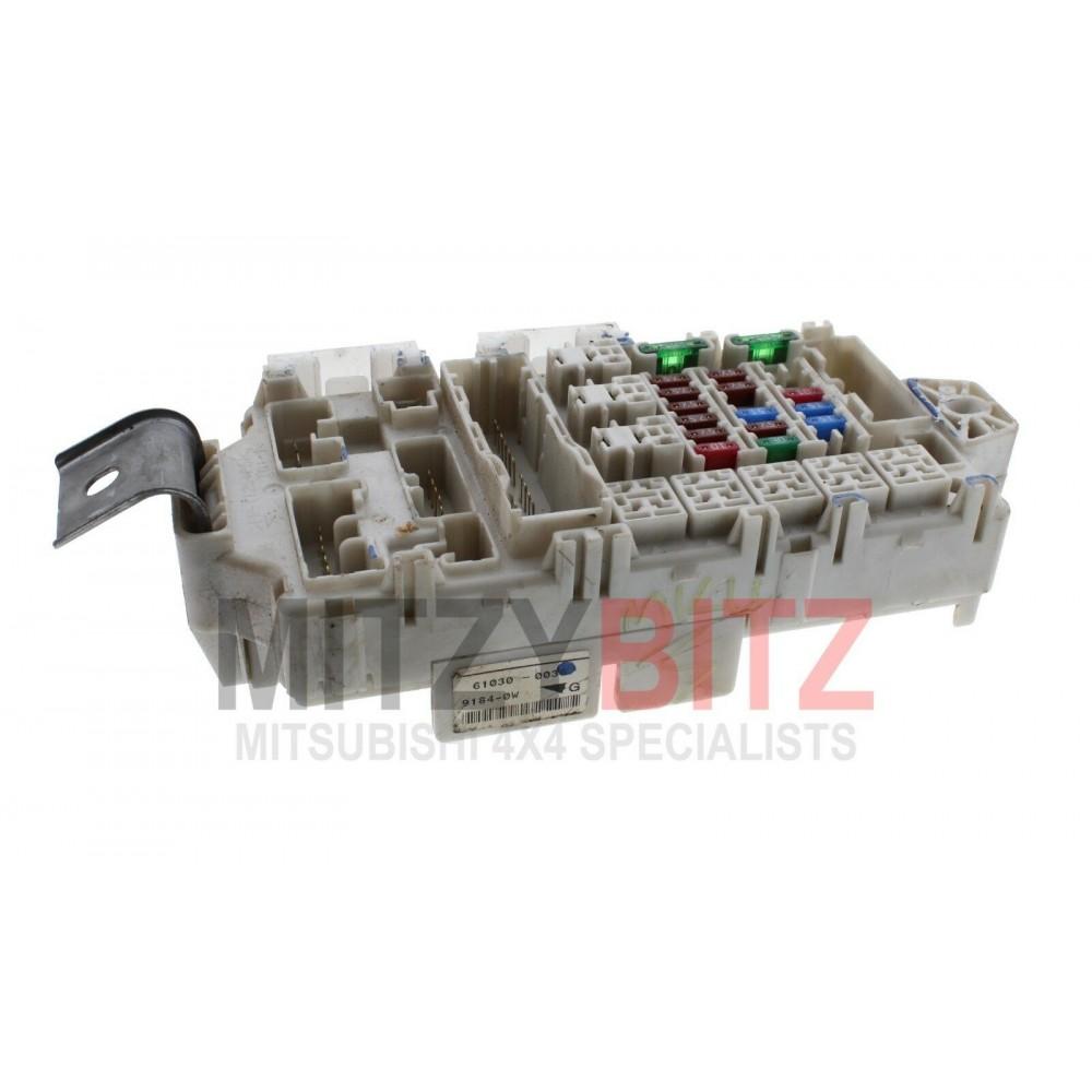interior fuse  u0026 relay box board for a mitsubishi pajero